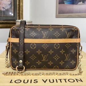 Louis Vuitton Compiegne Clutch/Crossbody Bag 💼